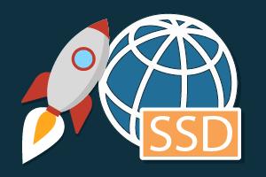 אחסון אתרם על גבי כונני SSD